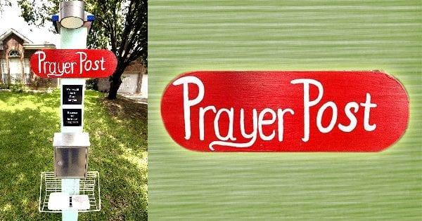 Prayer Post